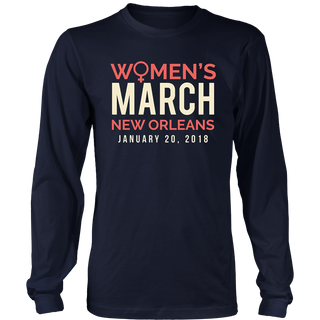 New Orleans Women's March 2018 T-Shirt