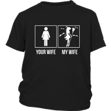 Your Wife My Halloween Witch Wife T-Shirt