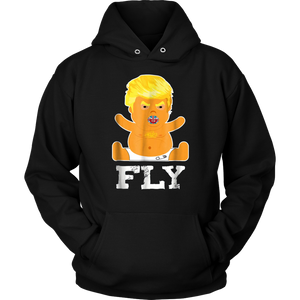 Giant Baby Trump Balloon Flying in London T-Shirt