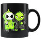 Christmas Grinch and Jack Skellington Mugs