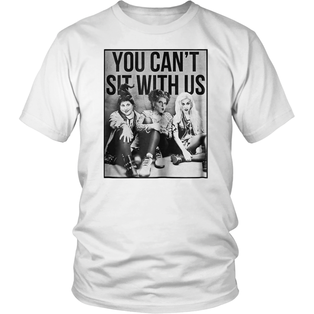 You Can't Sit With Us Halloween Funny Squad T-Shirt