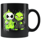 Christmas Grinch and Jack Skellington Funny Mugs