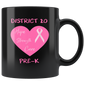 Breast Cancer Pre-K D20 Mugs