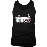 The Walking Nurse Hollywood style funny Zombie Doctor tshirt