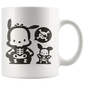 Pochacco Skeleton Halloween Mugs