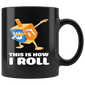 This Is How I Roll Dreidel Mugs Dabbing Chanukah
