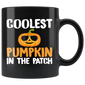 Coolest Pumpkin In The Patch Halloween Mugs