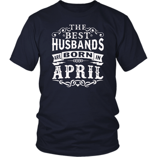 The best husbands are born in April shirt