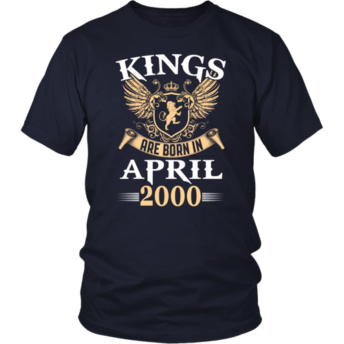 Kings Legends Are Born In April 2000 T-Shirt