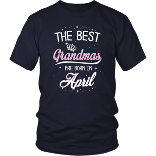 The best grandmas are born in April T-Shirt