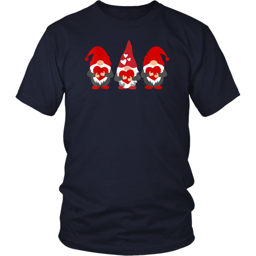 Three Gnomes Holding Funny Shirt