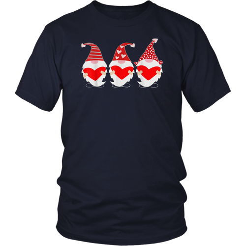 Three Gnomes Holding Gift Shirt