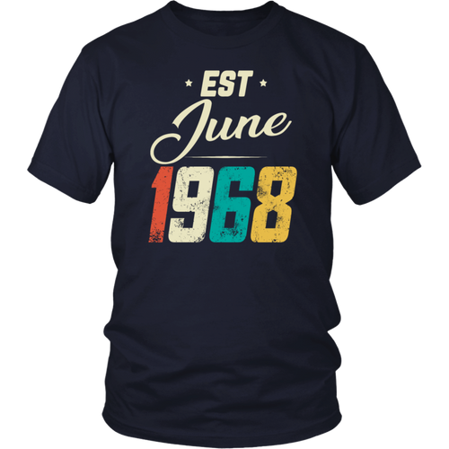 Retro Est June 1968 T-Shirt
