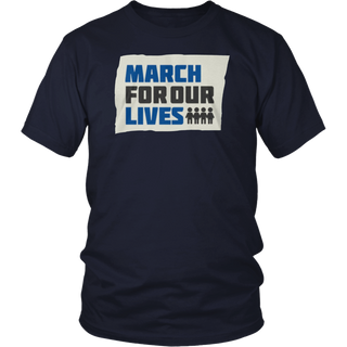 March for our lives tee shirt