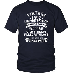 Vintaged 1992 Living Legend Built To Last T-Shirt