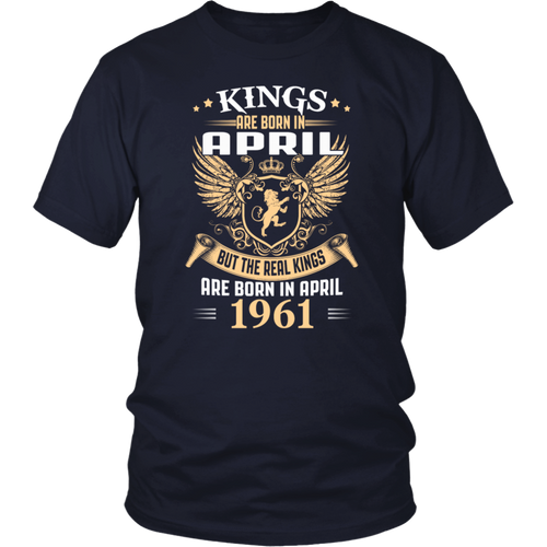 Kings Legends Are Born In April 1961 T-Shirt