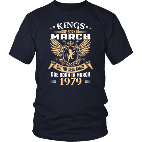 Kings Legends Are Born In March 1979 T-Shirt