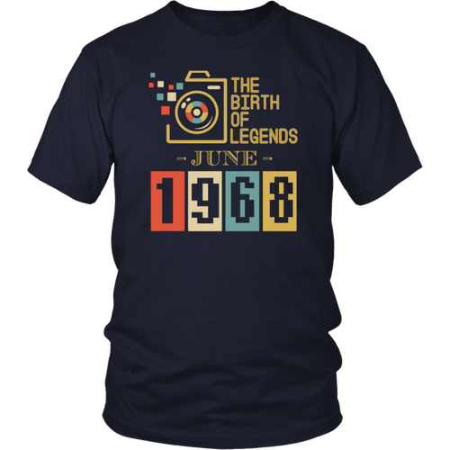 Awesome Since June 1968 Tee Shirt