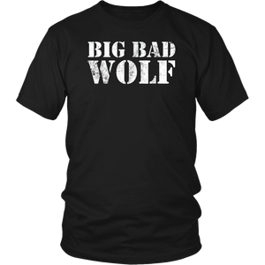 Mens Big Bad Wolf T-Shirt