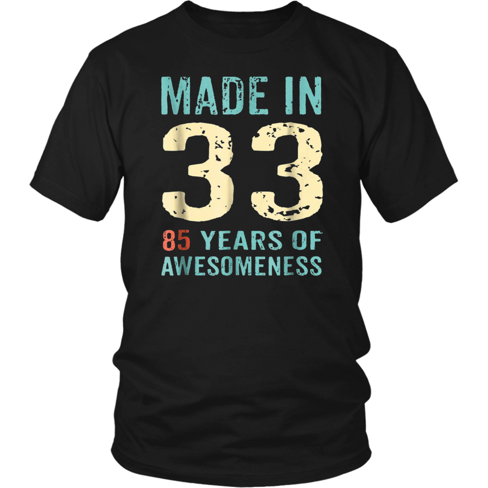 85th Birthday Gift Adult Age 85 Year Old Women Womens