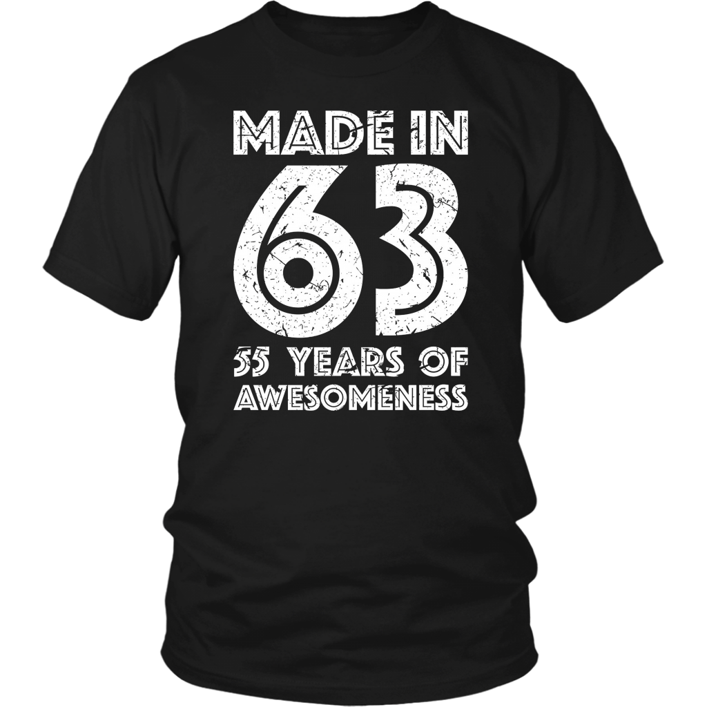 55th Birthday Gift Adult Age 55 Year Old Men Women T Shirt Teefim