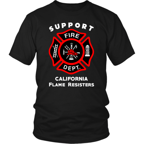 Support California Firefighters 2018 Wildfires T-Shirt