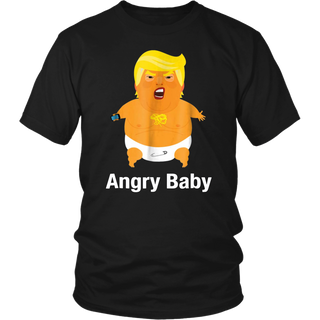 Baby Trump Balloon Funny Anti Trump Impeach T-shirt