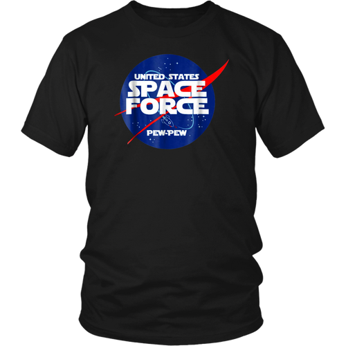 UNITED STATE SPACE FORCE PEW PEW SHIRT