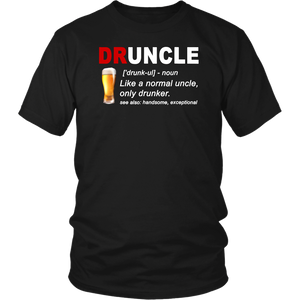 Druncle Beer T-shirt Gift For Men