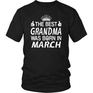 The Best Aunt Was Born In March t-shirts