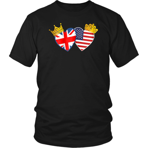 Royal Wedding 2018 Watching Party T-Shirt - Harry and Meghan