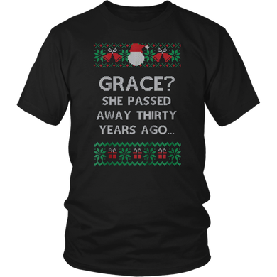 Christmas Family Winter Vacation Ugly Sweater Style T-Shirt