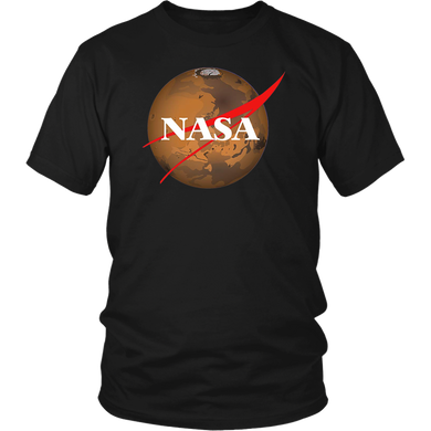 NASA T-Shirt Space Mars Exploration