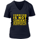 Coercion Is Not Consent Shirt