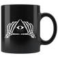 Skeleton All Seeing Eye Mugs