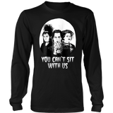 You Can't Sit With Us T Shirt Funny Halloween Shirt