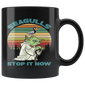 Seagulls Stop It Now Vintage Mugs For Men Women Kids