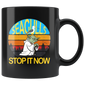 Retro Vintage Seagulls Stop It Now Mugs Kids Youth Men Women