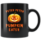Peter Peter Pumpkin Eater Couples Halloween Mugs