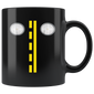 Headlights With Road Markings Mugs