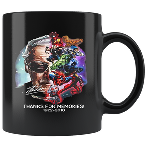 RIP Stan Lee Thank for Memories 1922 2018 Mugs Limited Edition