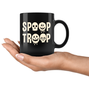 Spoop Troop Halloween Mugs