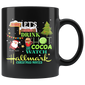 Let's Bake Stuff Drink Hot Cocoa Christmas Mugs