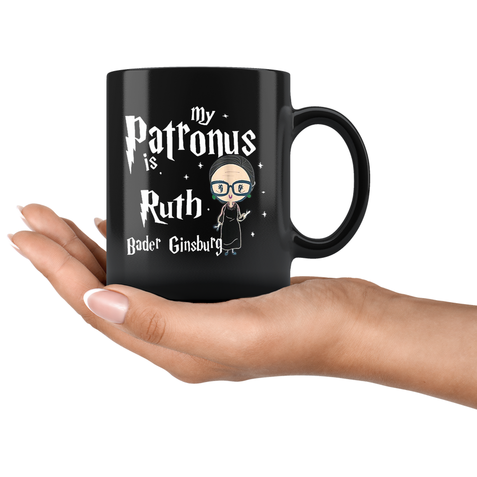 My Patronus is Ruth Bader Ginsburg Mugs