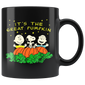 Halloween It's the Great Tee Pumpkin Mugs