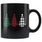Christmas Buffalo Plaid Trees Mugs