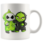 Christmas Grinch and Jack Skellington Gift Mugs
