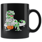 Halloween Pumpkin Dinosaur Mugs