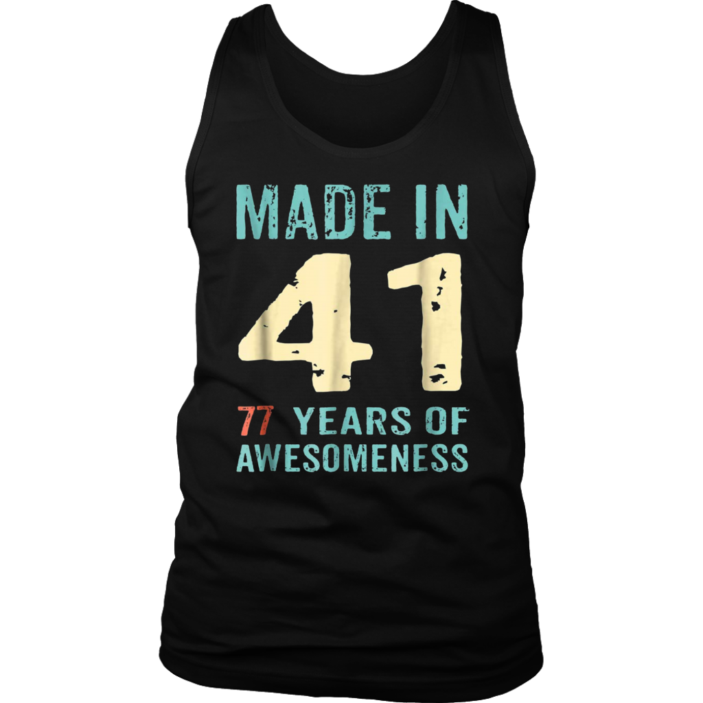 77th Birthday Gift Adult Age 77 Year Old Women Womens