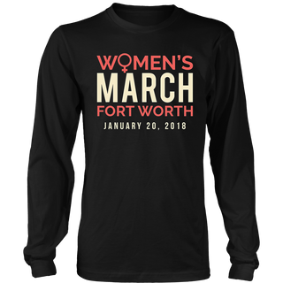 Fort Worth Texas Women's March 2018 T-Shirt